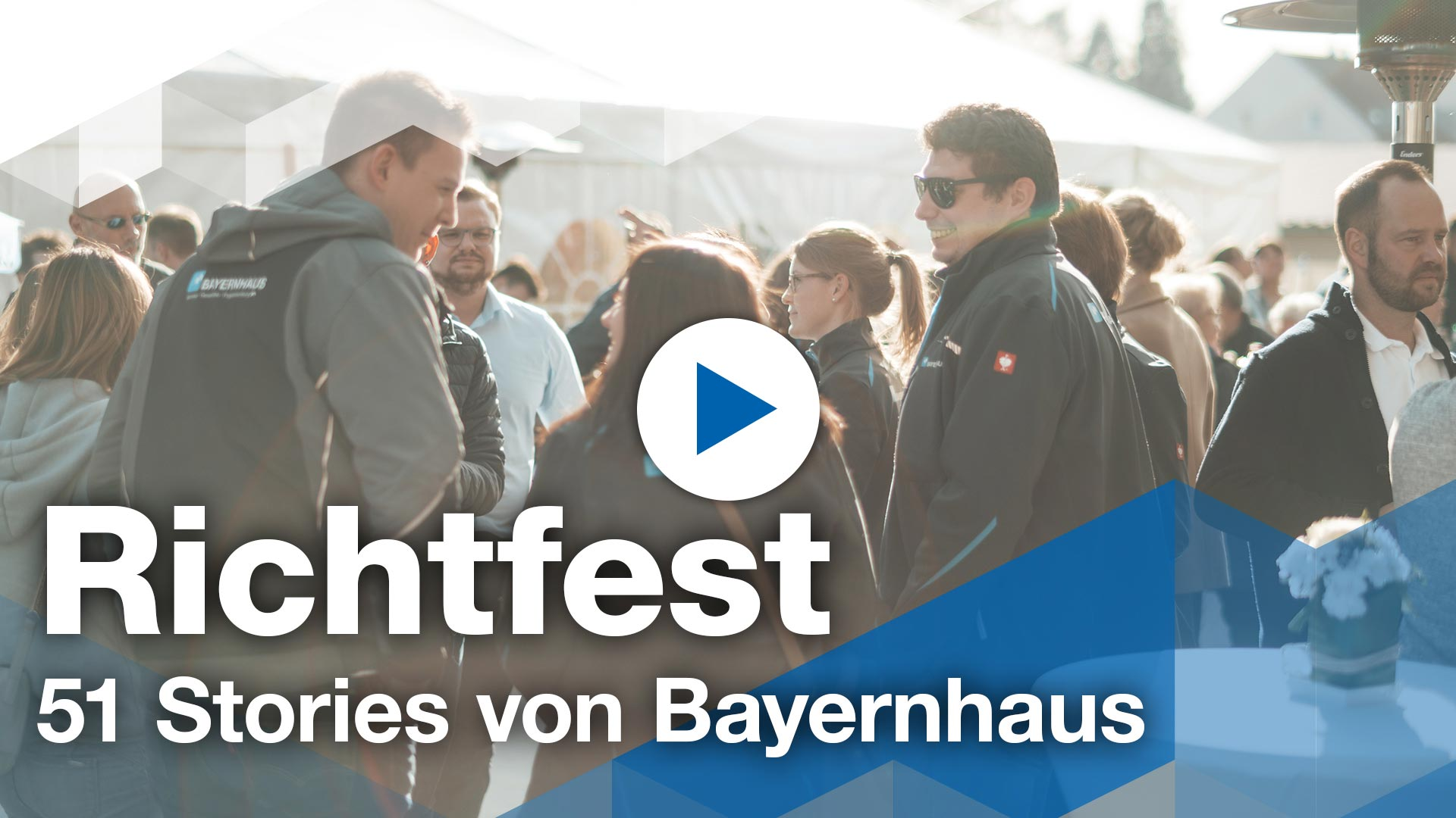 Unser Richtfest Video