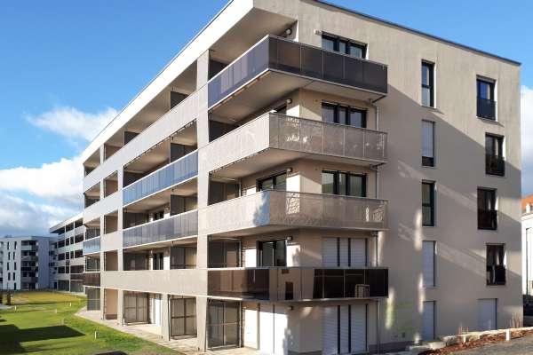 Wohnen am Hechtpark: Erstes Bayernhaus-Projekt in Dresden fertiggestellt