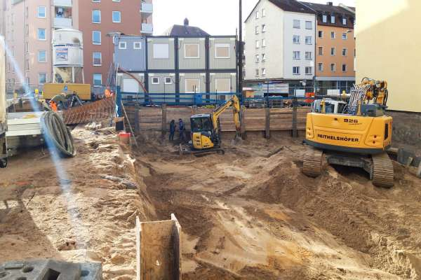 "Baubeginn des Investment-Projekts ""Castle Apartments"" in Nürnberg"